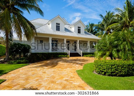 Royalty free stock photos and images naples florida usa for Wood frame house in florida