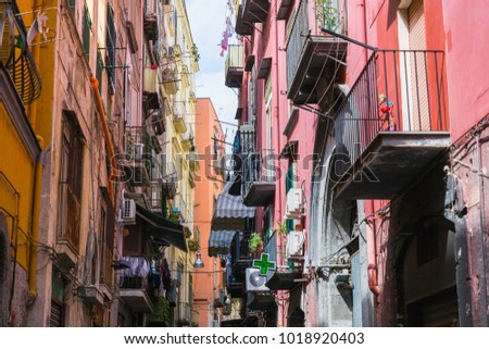 Naples, Italy: typical street