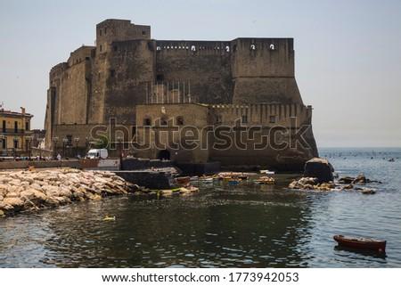 Naples: walk along Castel dell'Ovo