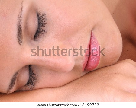 napping - stock photo