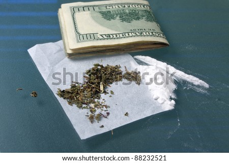 narcotics and drugs used for addictions