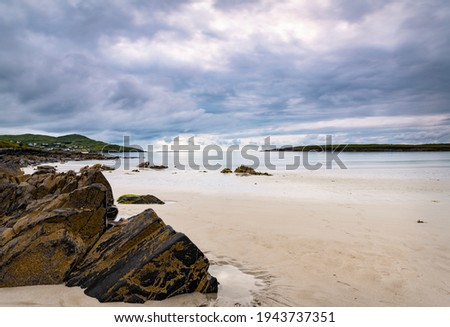 Narin Beach, County Donegal, Ireland Stok fotoğraf ©