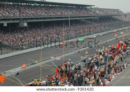 NASCAR  Race at the Brickyard 400 in Indianapolis