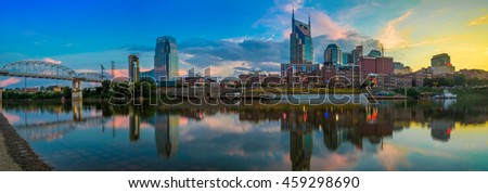 Nashville Skyline #459298690