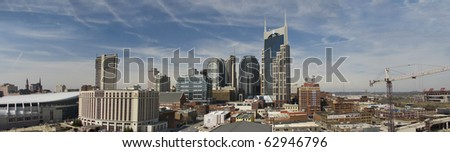 Nashville, Tennessee panorama