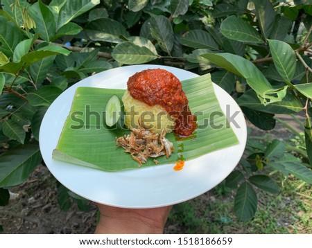 Nasi lemak malaysian traditional food