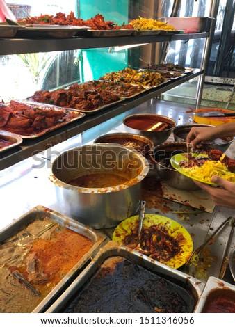 Nasi Lemak Royale at local Malaysian restaurant