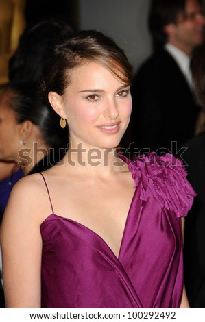 Natalie Portman  at the  2nd Annual Academy Governors Awards, Kodak Theater, Hollywood, CA.  11-14-10