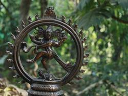 Nataraja statue of indian culture