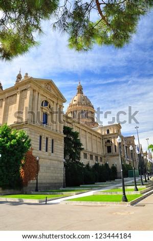National Art Museum of Catalonia. Barcelona.