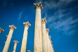 National Capitol Columns from Below - United States National Arboretum - Washington D.C.
