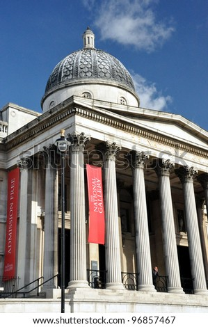 National Gallery of Art, Trafalgar Square, London