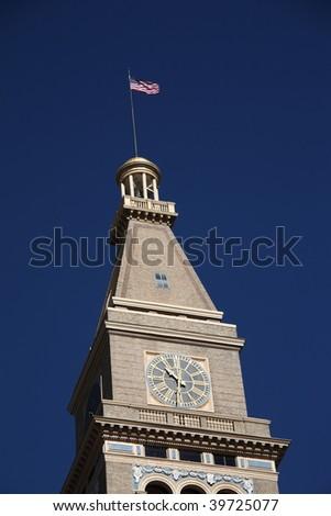 National Historic Register D&F Clocktower - Denver