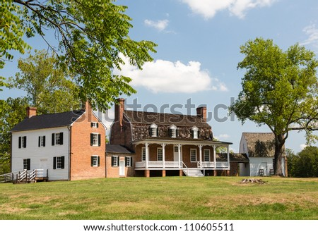 National Historic site of home of Thomas Stone, signer of Declaration of Independence