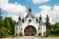 National Monument of Architecture The Cathedral in the St. George Monastery on the Cossack Graves, is a historical and memorial reserve The Battlefield near Berestechko in Plyasheva