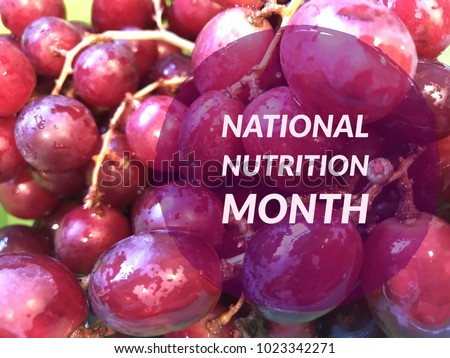 National nutrition month  #1023342271