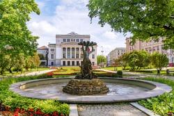 National Opera in Riga, Latvia