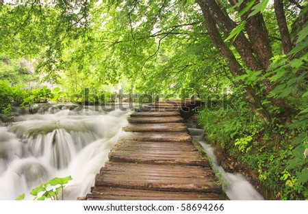 National Park from Plitvice
