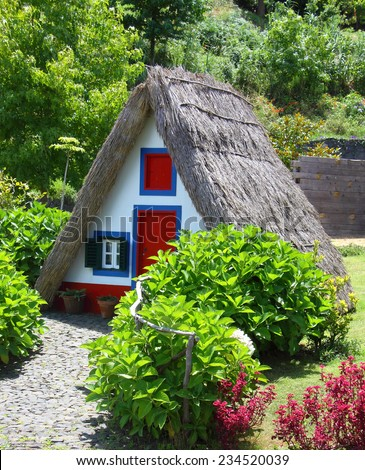 National Portuguese house in nature