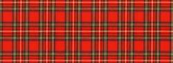 National Scottish woven ornament -