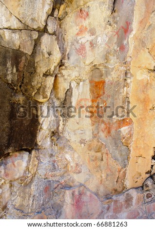 native american indian pictographs