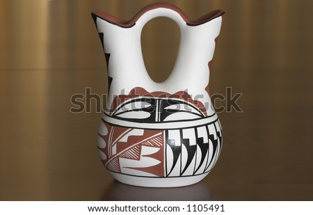Native American Wedding Vase from Taos Pueblo