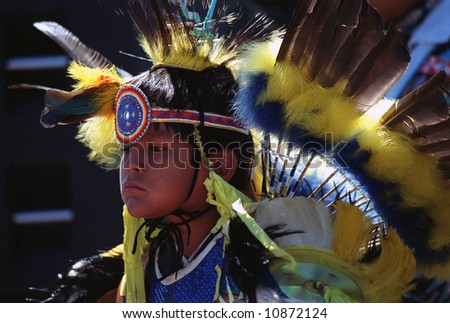 Native Indian Boy