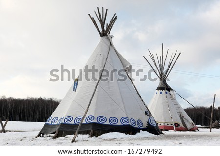 Native Indian tee-pee
