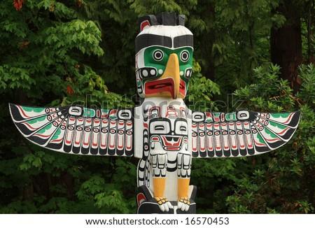 Native Totem Pole
