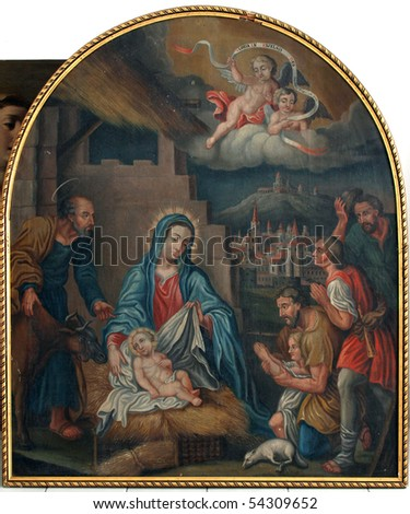Nativity Scene, Adoration of the Shepards