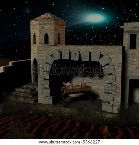 Outdoor Nativity Stable Plans http://www.shutterstock.com/pic-5366227/stock-photo-nativity-scene-with-stable.html