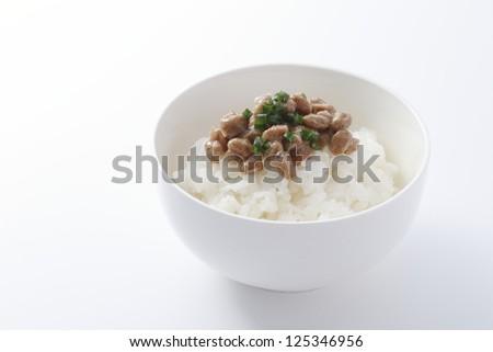 Natto rice