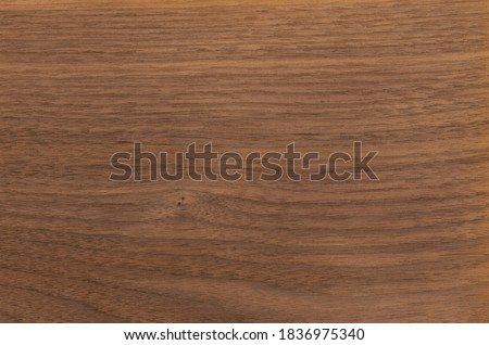 Natural american walnut veneer texture without white stripes Foto d'archivio ©