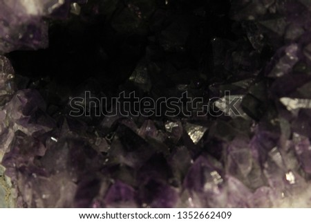 Natural Amethyst Background #1352662409