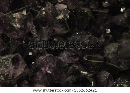 Natural Amethyst Background #1352662421