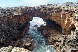 Natural arch Boca do Inferno, Cascais, Portugal