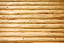 Natural background pattern of pine balk wall