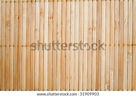 natural bamboo slatted mat background