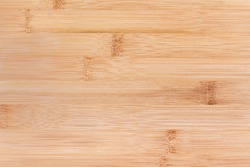 Natural bamboo texture background, closeup bamboo plank