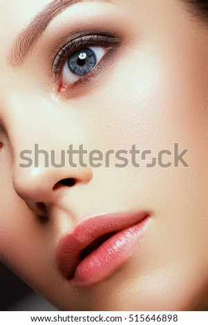 Free photos Beauty female face  Beautiful face of a young