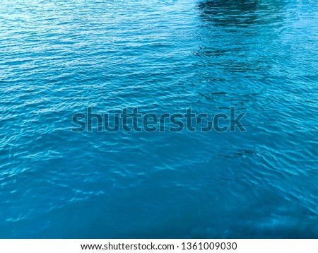 Natural beauty of the sea water. #1361009030