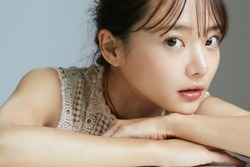 Natural beauty portrait of young Asian woman