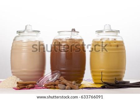 Shutterstock Natural beverages.