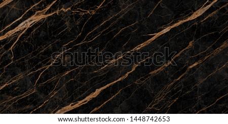 natural black emperador marble texture background with golden veins, exotic limestone ceramic tile slice mineral marbel stone pattern, modern onyx brown breccia rustic matt italian quartzite granite.