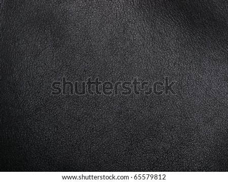 natural black leather abstract background