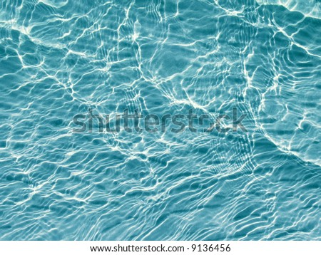 natural blue water wave background