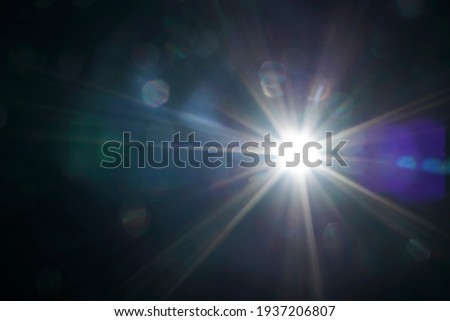 Natural bokeh background. Defocuset backdrop with sunlight. Abstract  backdrop  with sun rays, bokeh effect.