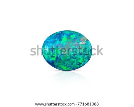 Natural Boulder Opal gemstone