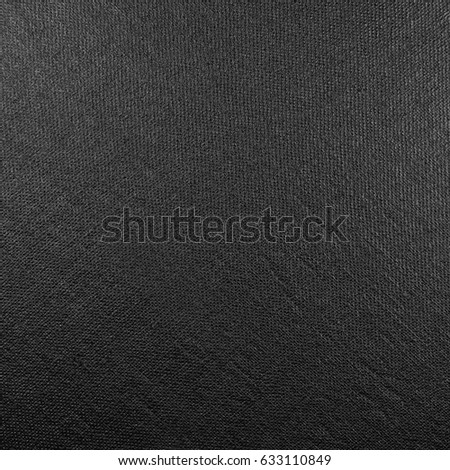 Natural bright black fiber linen fabric texture, large detailed macro closeup, rustic vintage textured burlap canvas background, diagonal pattern, horizontal copy space #633110849