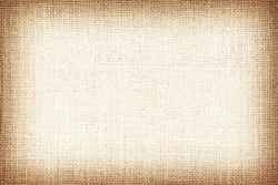Natural brown sackcloth textured for background.